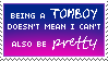 Pretty Tomboys stamp by a-stamp-account