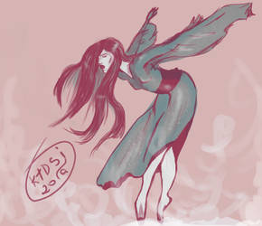 Luthien Tinuviel was dancing by KTDSI