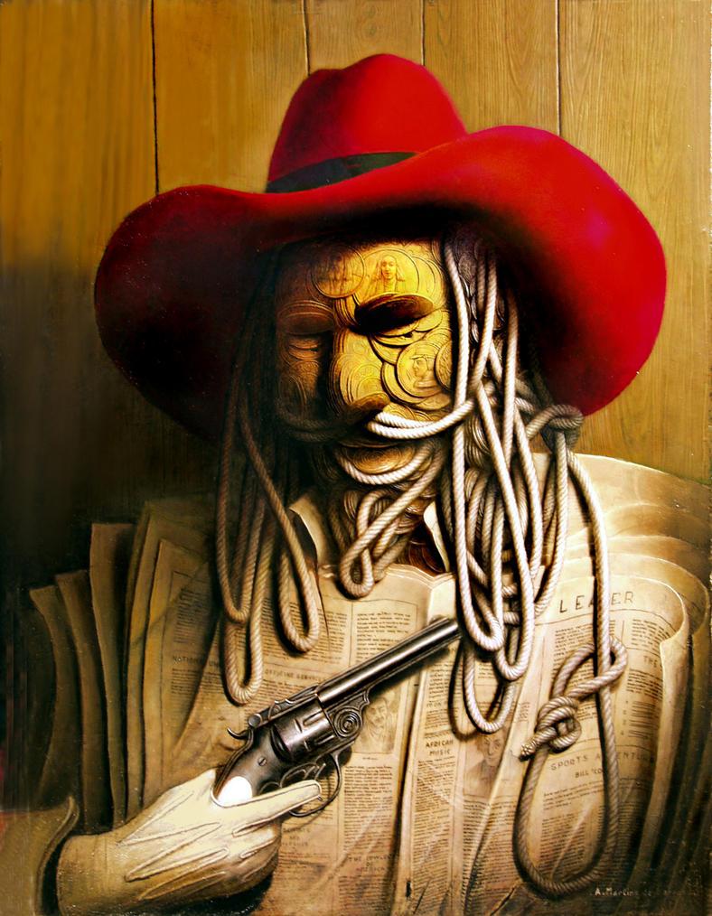 Buffalo Bill Cody by amartinsdebarros