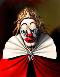 the clown by amartinsdebarros