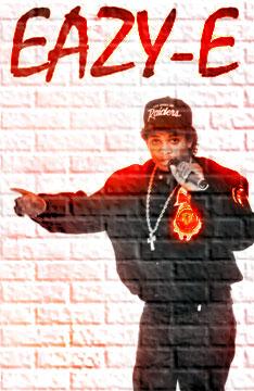 Eazy-E by terminatorturbo