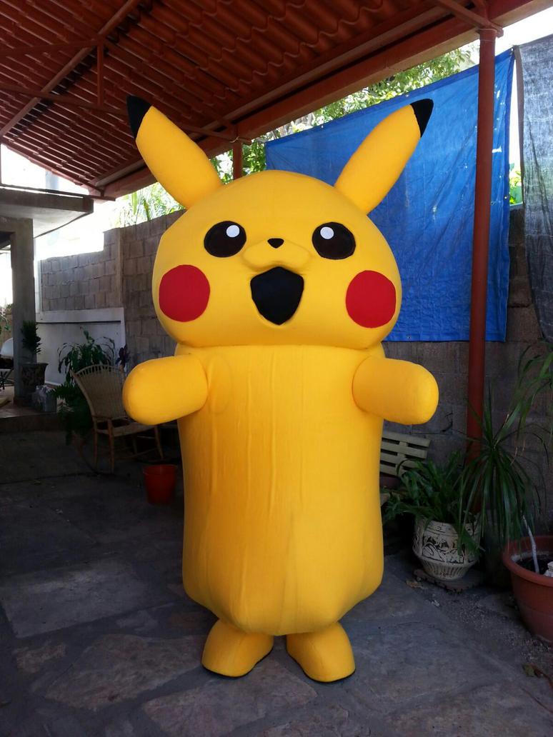 Botarga Pikachu terminada by Rockgirl10
