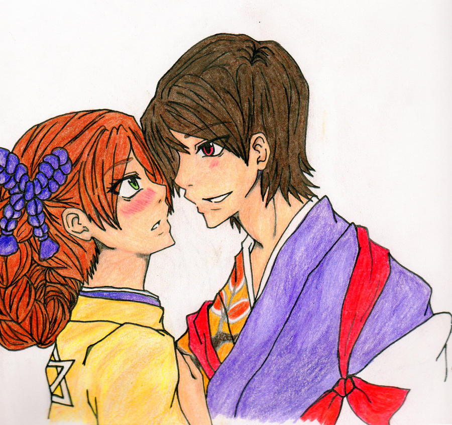 Princess and Samurai by darkanimegirl11