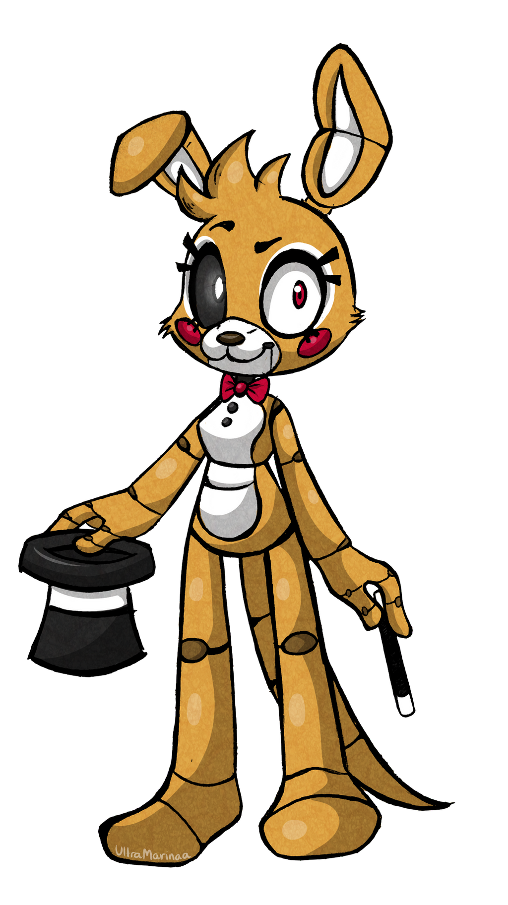Fnaf Oc Karo The Kangaroo By Ultramarinaa On Deviantart