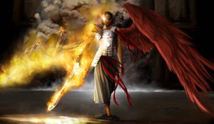 Angel of cinder