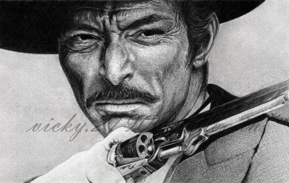Lee Van Cleef by GreyVic on DeviantArt