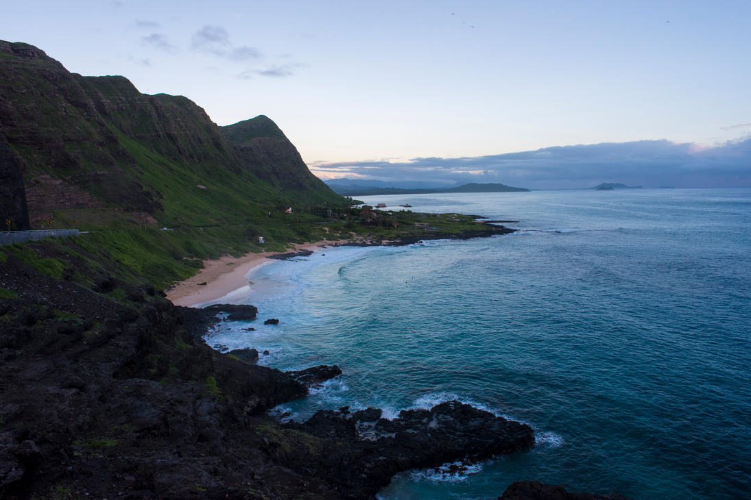 Dawn from Makapu by fxx85