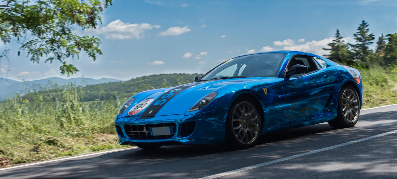 The blue 599 by fxx85