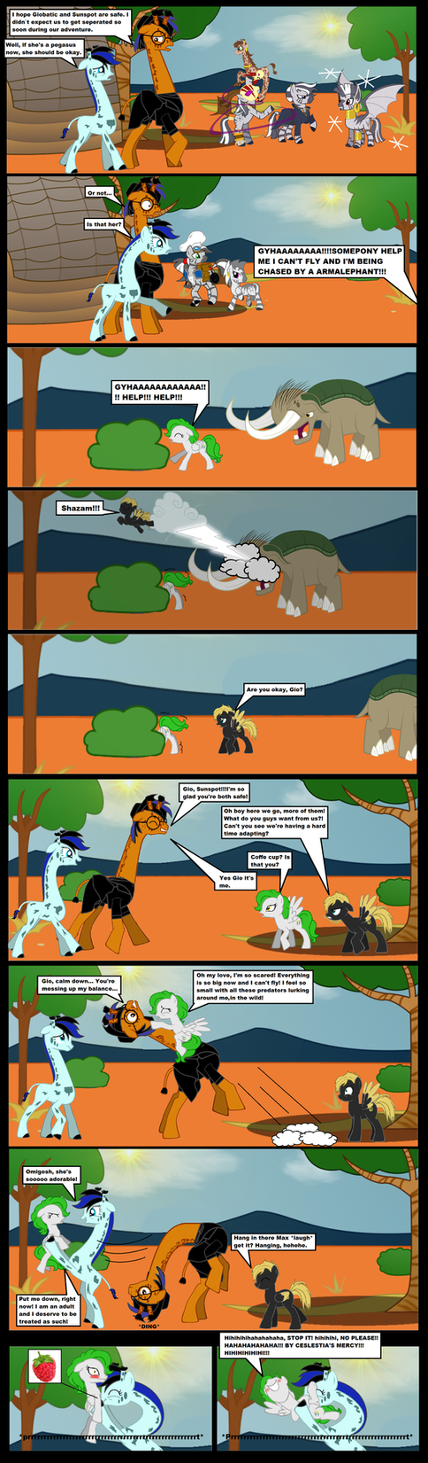 The pegaraffe disease 8 by darkoak213
