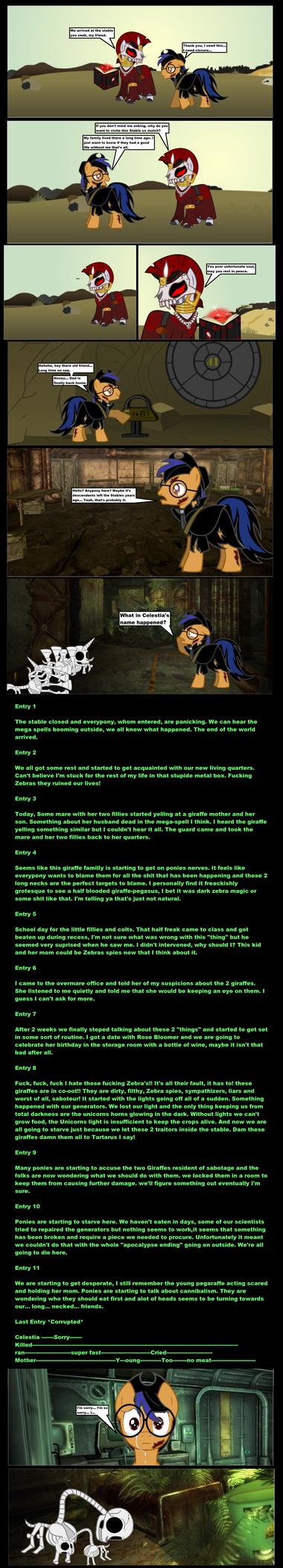 Fallout Equestria Curse of the Goulish Pegasus 4 by darkoak213