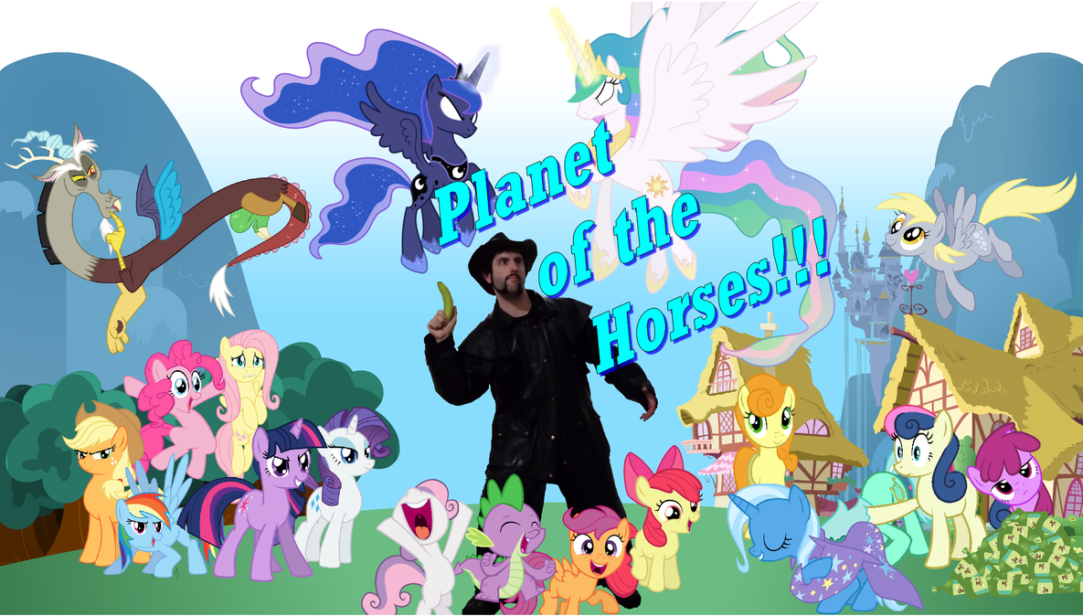 Planet of the horses by darkoak213