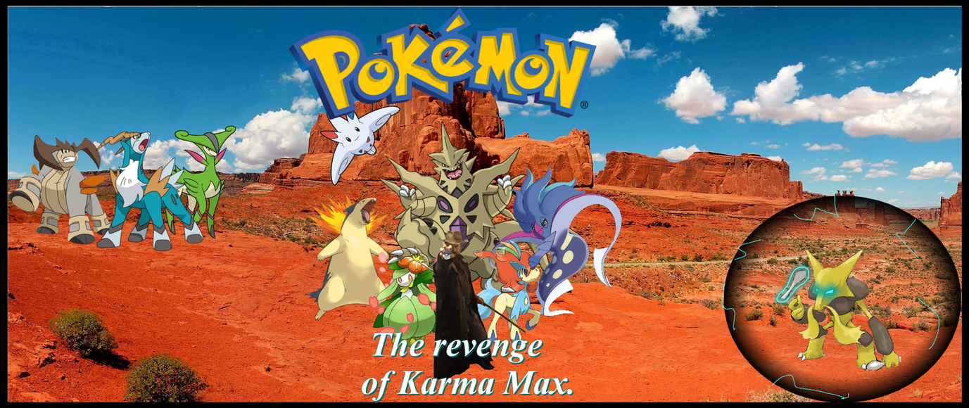 Pokemon: The revenge of Karma Max pt1 by darkoak213