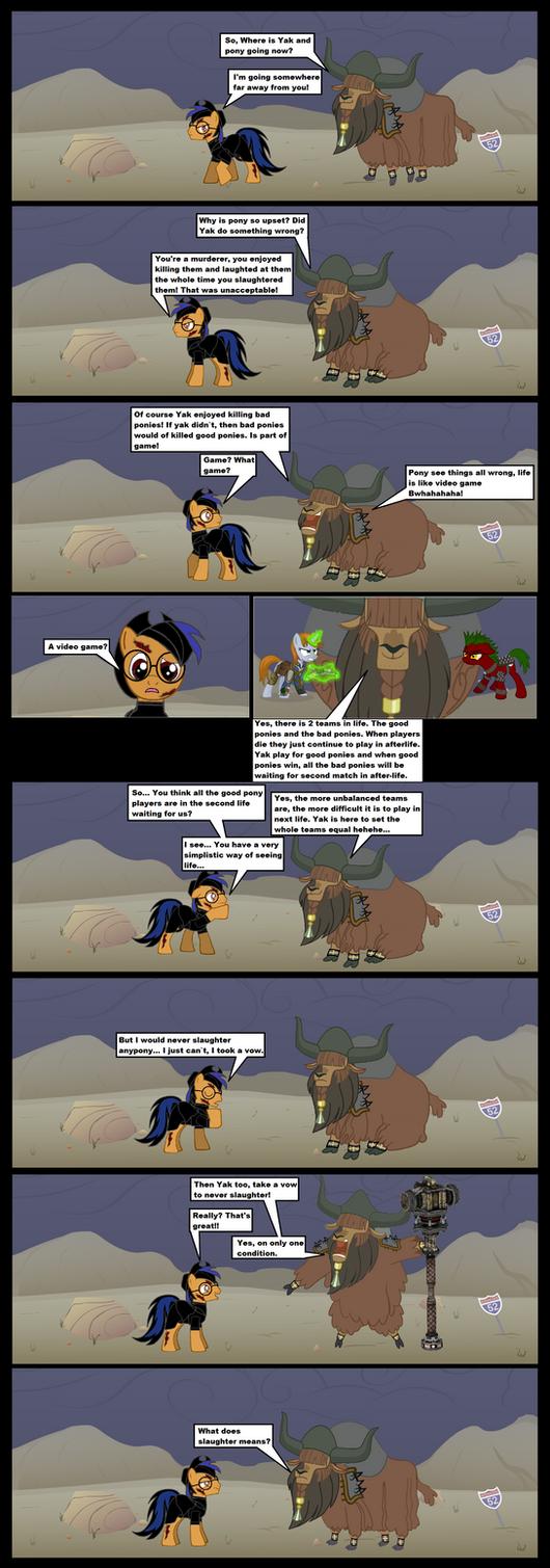 Fallout Equestria cursed crusade page 4 by darkoak213