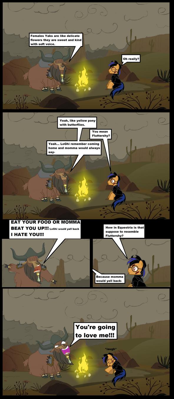 Fallout Equestria CC (Yak joke#2) by darkoak213