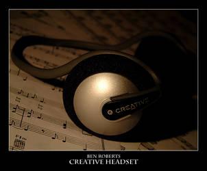 Creative Headset by konador