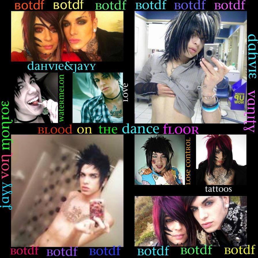 Blood On The Dance Floor Collage by xXxCourtneyMartinxXx