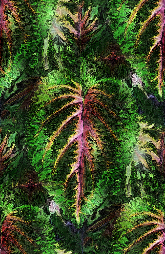 Leafy Tapestry by lylejk