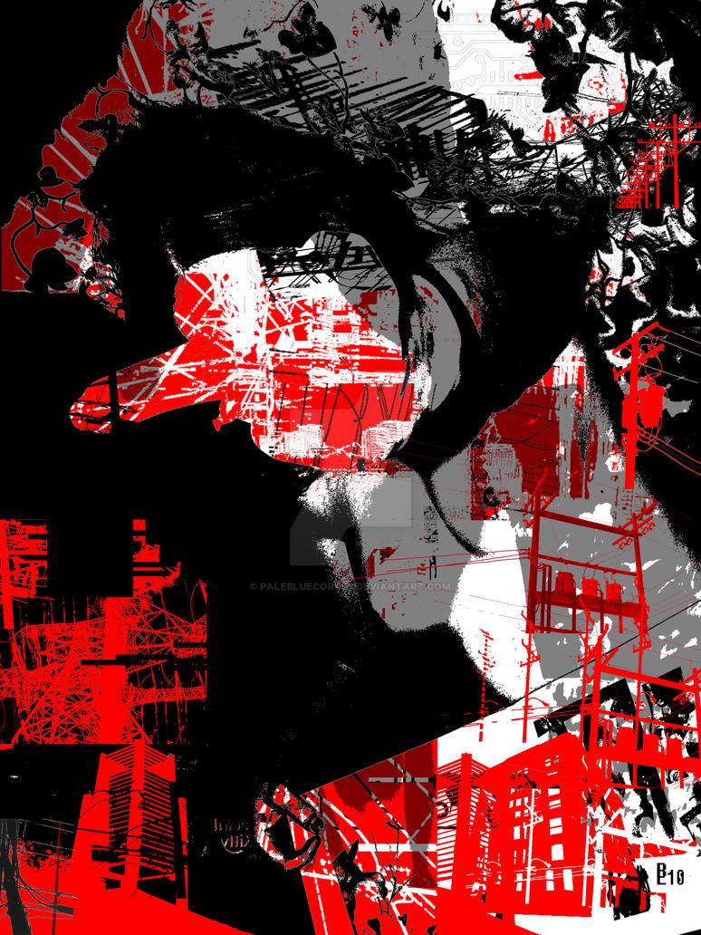 electro girl 8 by palebluecorpse