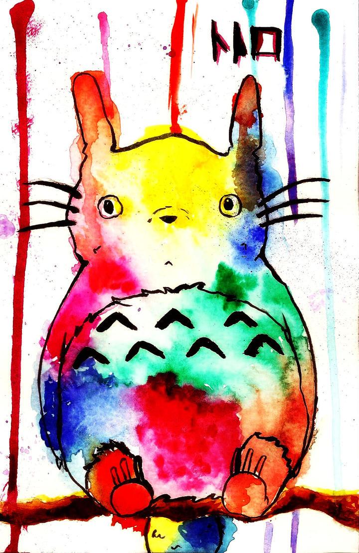 Totoro by Shu-Ai