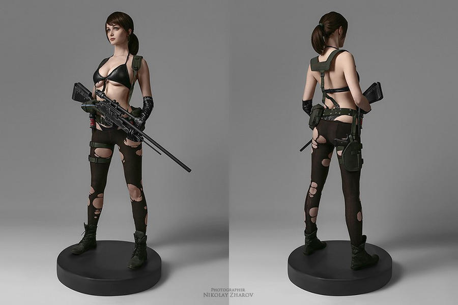 Metal Gear Solid V: The Phantom Pain - Quiet by tniwe