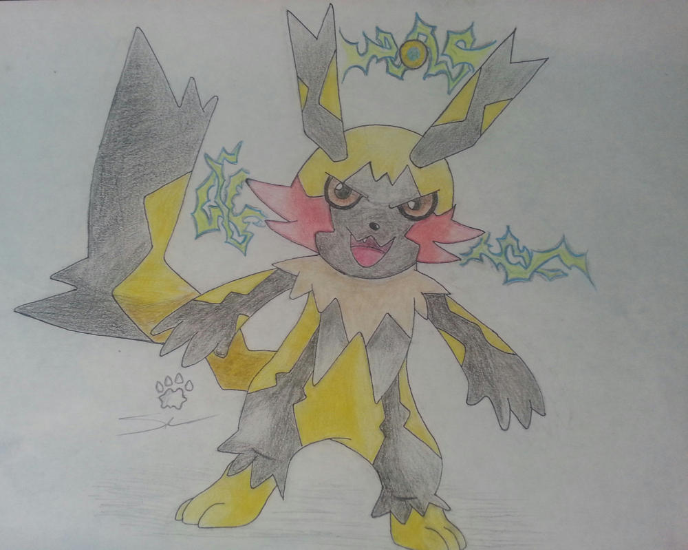 Mega Evolution Pikachu V2 By Dunethezangoose On Deviantart