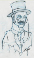 Gentleman Zombie by Tex-Tin-Star