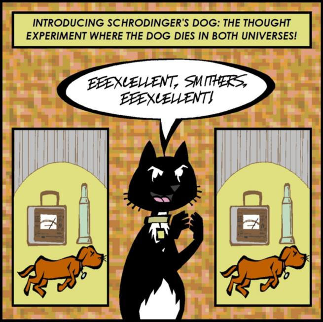 Schrodinger's Dog by timelike01