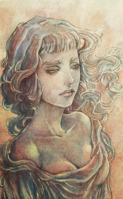 Watercolor sketch by RafaellaRyon