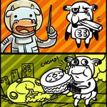 Alien Cows Versus The Earth - Cutscenes by RafaellaRyon