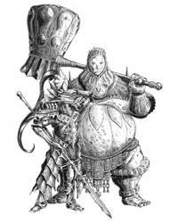 Ornstein and Smough by peterlof