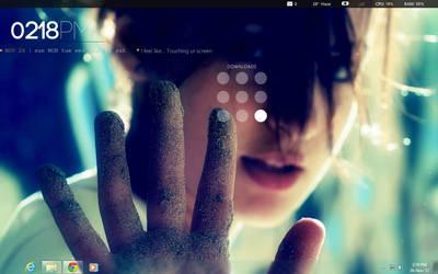 touching screen