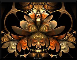 Autumn in Gold I by AmorinaAshton