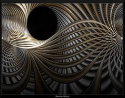 Metallic Pipe Dreams 1 by AmorinaAshton