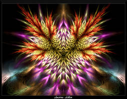 Colorful Flora III by AmorinaAshton