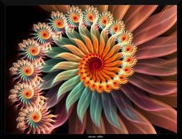 Floral Fantasy-Gerbera by AmorinaAshton