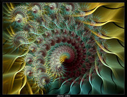 74O4-Sea Urchin Spiral by AmorinaAshton