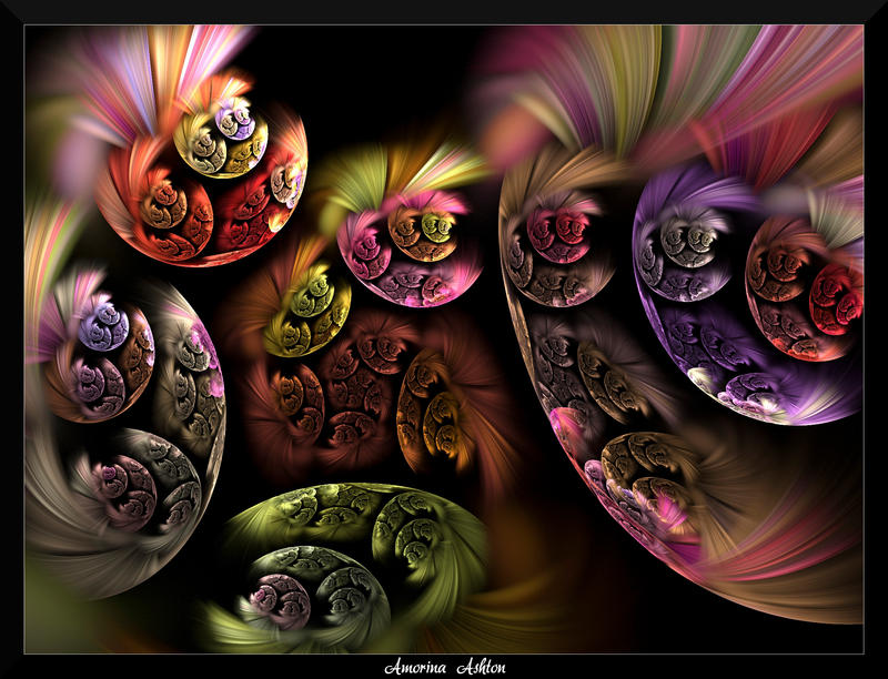 77Q4-Bubble Blooms by AmorinaAshton