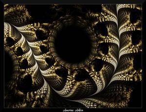78D4-Sleeping Snake