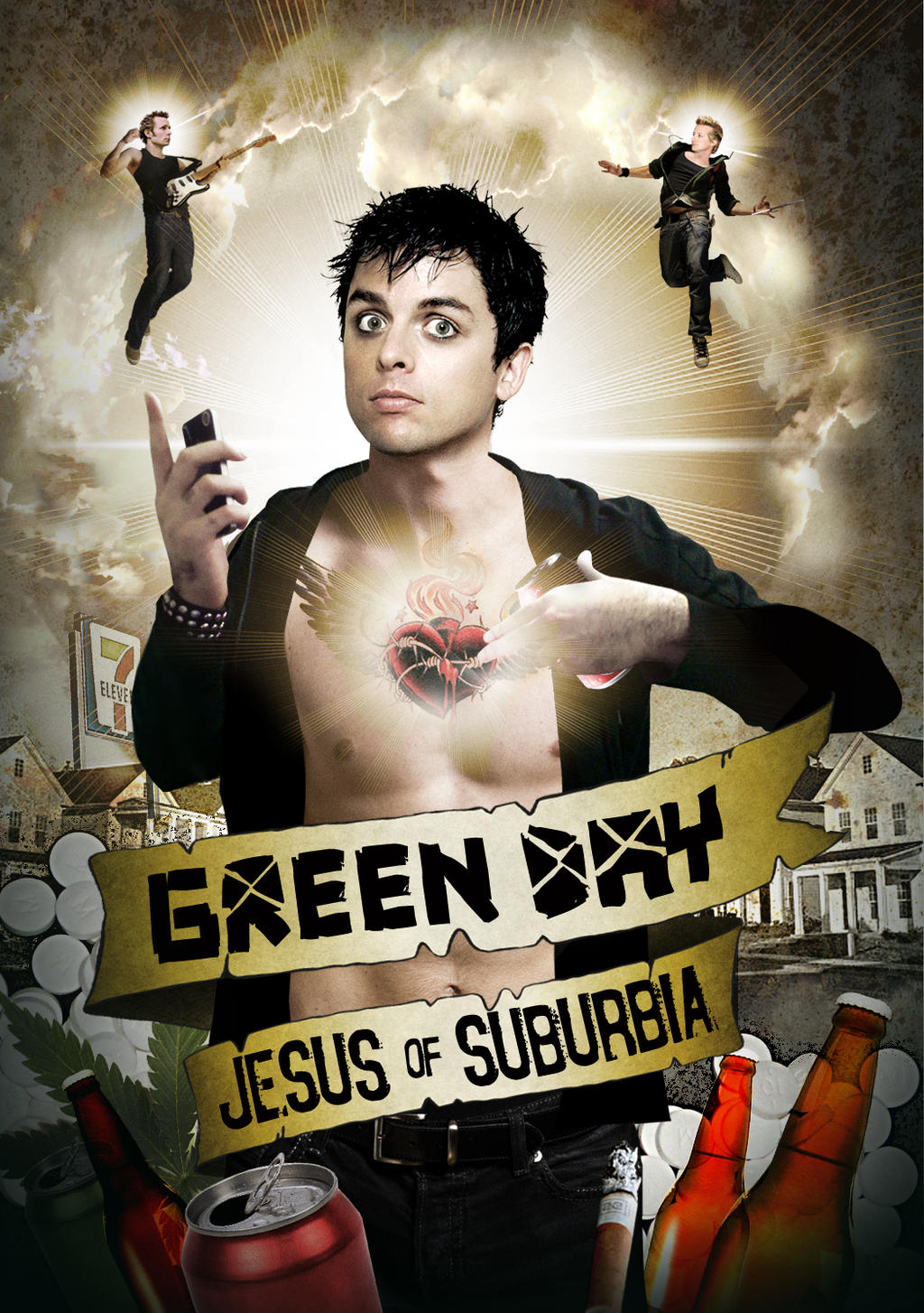 Green Day: Jesus of Suburbia by mqfbr on DeviantArt