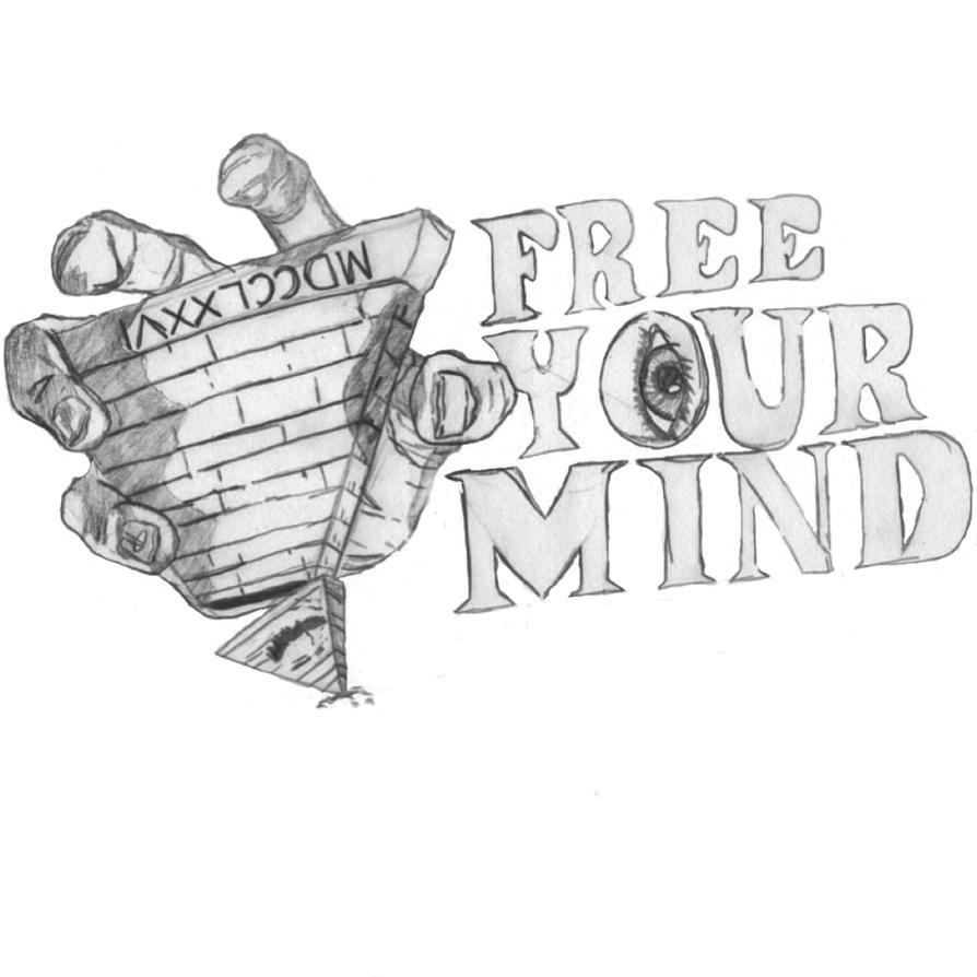 free your mind tattoo design by acetrigger00 on deviantart. Black Bedroom Furniture Sets. Home Design Ideas