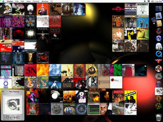Clutter Albums OS X by tonmeister