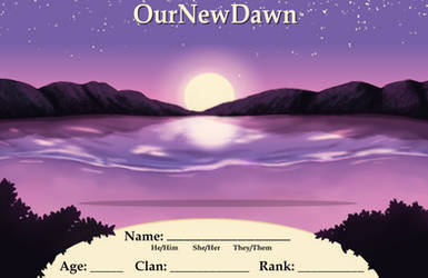 Our-New-Dawn Application