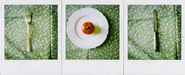 a table. by moumine-polaroid