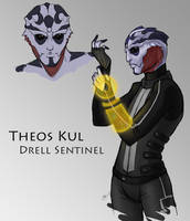 ME: Drell Sentinel by Terralynde