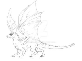 Pern Dragon Template