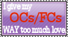 Way too much love stamp by Purple-Jacket