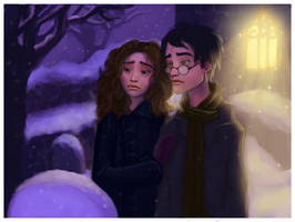 Godric's Hallow collab by greendesire