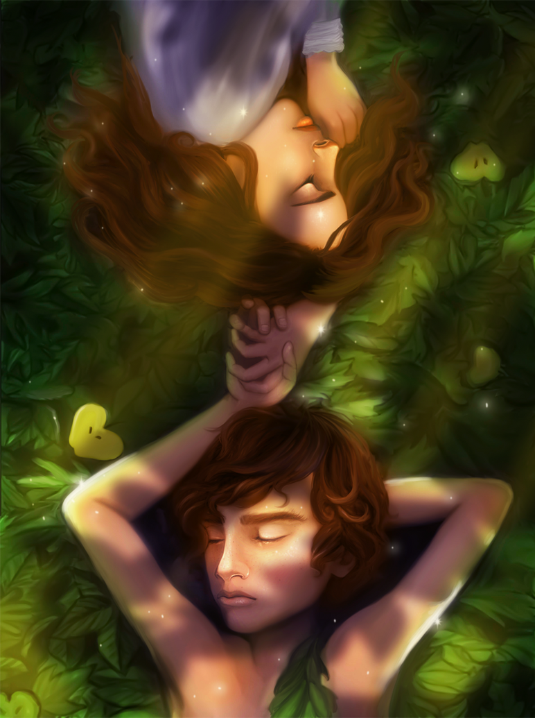 Peter and Wendy by greendesire