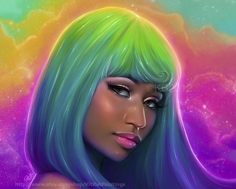 Nicki Minaj 2 by greendesire