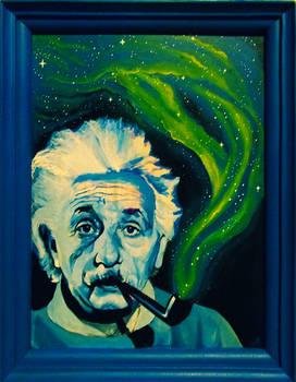 Einstein smoking space
